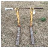 Bucket Mount Pallet Forks