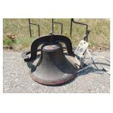 Cast Iron Bell and Shepherd Hooks