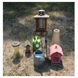 Bird Houses and Garden Items