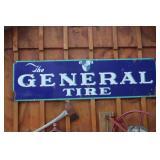 General Tire metal sign