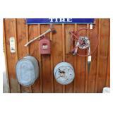Fire Hose reel, Fire axe, Fire Alarm Box, etc