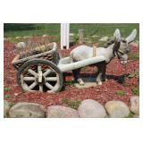 Burrow and Cart lawn decoration