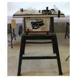 "ACE 10"" Bench Table Saw and stand"