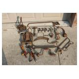 Pulleys, Clamps, Saws, Handtools