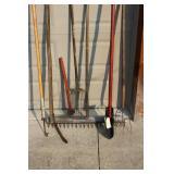 Fork, Primitive Tools, Rake, Axe
