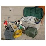 Tarps, Tent, Container