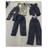 Arctic Cat snow gear, and others, youth sizes