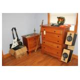 Assortment of furniture and games
