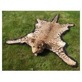 1930s African Leopard Skin Taxidermy Rug