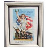 1939 US Army Recruiting Services Poster