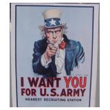 Dated 1968 and 1976 US Army Recruiting Poster
