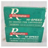 .32 Remington Rifle Ammunition 40 Rounds