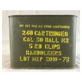 .30 Cal M2 Ball 240 Rounds