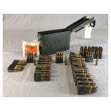 .30 Cal Ammunition 250 Rounds