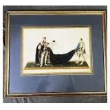 Coronation of George IV Etching 1821 - Leopold