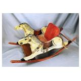 Wooden Rocking Horse Chair