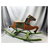 Playthings Mengal Wooden Rocking Horse