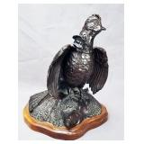 George Northup Bronze Grouse Sculpture