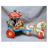 Hill Toys and Bells Horse Drawn Merry-Go-Round