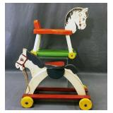Fisher Price, Toy Kraft Wooden Ride On Toys