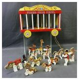 Fisher Price Circus Wagon With Animals