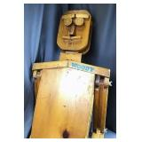 """Woody"" Large Wooden Folk Art  Jointed Figure"