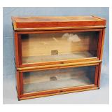 Mahogany Barrister Bookcase by Globe Wernicke