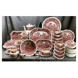 Large Group of Copeland Spode