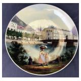 Hand Painted Artist Signed German Plate Mettlach?