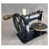 Cast Iron Miniature Crank Toy Sewing Machine