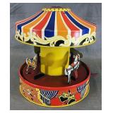 Tin Lithograph Carousel Toy
