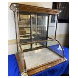 Curved Glass Front Excelsior Tower Display Case
