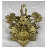 English Ornate Brass Postal Scale C. 1857