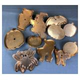 11 Collectible Halloween Copper Cookie Cutters
