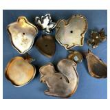 9 Copper Cookie Cutters Autumn and Thanksgiving