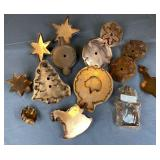 14 Collectible Holiday Copper Cookie Cutters