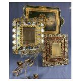 Group of Florentine Italian Decorative Items