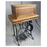 19th Century Weed Treadle Sewing Machine