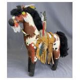 Taos Mountain Horse Sculpture Kathleen Knowles