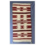 """Antique Hand Made Navajo Rug 35"""" x 17"""""""
