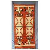"""Vintage Native American Navajo Rug 47"""" x 22 3/4"""""""