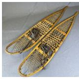Pair of Strand WWII Era Military Snow Shoes