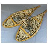 """Antique Snow Shoes 47 1/2"""""""