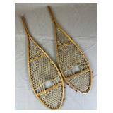 Pair of Small Antique Snow Shoes