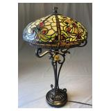 Dale Tiffany Leaded Stained Glass Lamp
