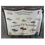 Lansing Car Assembly Commemorative Blanket