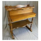 Victorian Walnut Ladies Desk