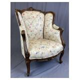 French Rococo Armchair Early 20th Century REO