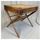 Mid-Century Regency X-Base Table REO