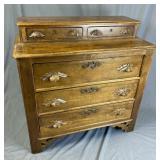 Victorian Cottage Style Walnut Dresser
